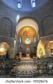 Dormition Abbey, Mt. Zion in Jerusalem