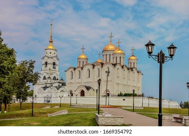 Dormition Cathedral in Vladimir, Russia.