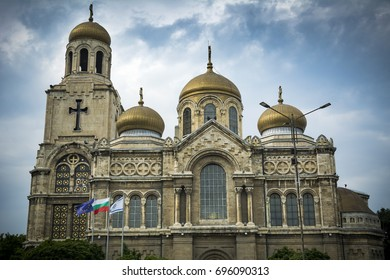 Dormition of the Mother of God Cathedral in Varna Bulgaria