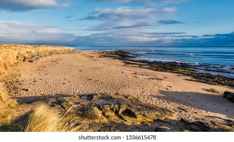 Dornoch beach looking north over the Moray Firth