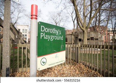 Dorothy's Playground at The Wizard of Oz Park, Chicago, Illinois