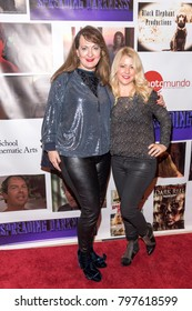 Dorrie Grace, Jamielyn Lippman attends movie premiere SPREADING DARKNESS at The Ray Stark Theatre, Los Angeles, CA on January 19, 2018
