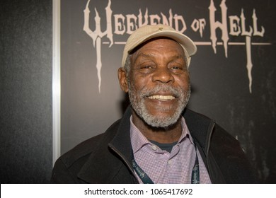 DORTMUND, GERMANY - APRIL 8: Actor Danny Glover (Lethal Weapon, SAW, Predator) at Weekend of Hell, a two day (April 7-8 2018) horror-themed fan convention.