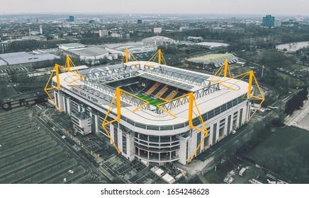 Schirm Borussia Dortmund Stockschirm Stadion L Regenschirm BVB 09