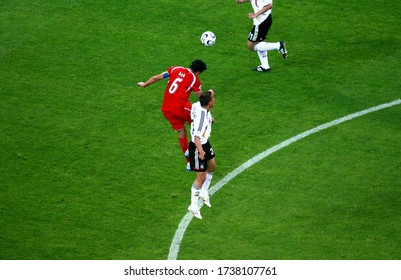 Dortmund, GERMANY - June 14, 2006: 