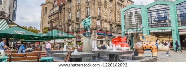 Dortmund North Rhine Westphalia Germany October Stock Photo Edit Now 1220162092