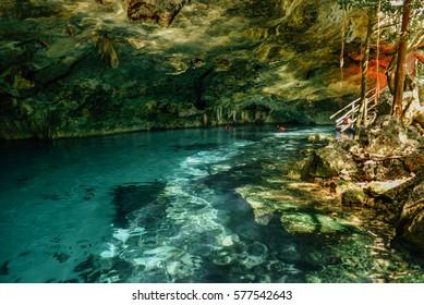 Dos Ojos cenote, Tulum, Quintana Roo, Mexico