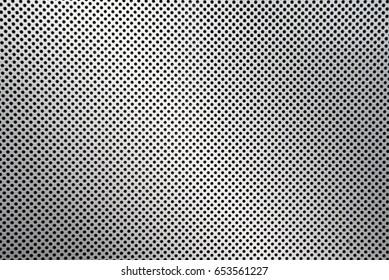 dot pattern of metal mesh filter