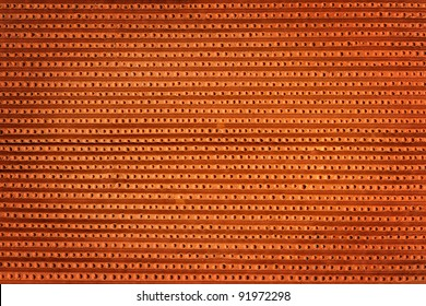 Dotted clay texture, pottery background