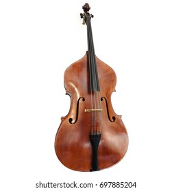 The double bass made in Italy