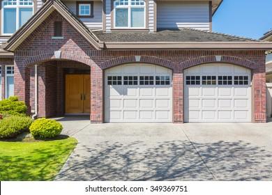 Double Door Garage Door.
