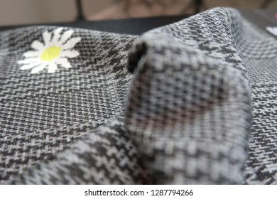 Double Face Jacquard Interlock Knitted Fabric