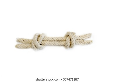 Double fisherman's knott