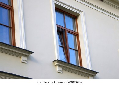 Double glazed Window with wooden frame