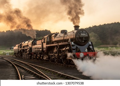 Double headed Steam locos