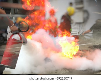 Double layer fire hydrant and fire for concept safty first.