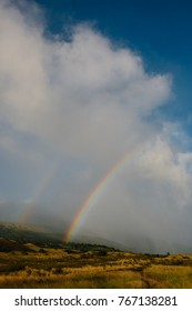 Double Rainbow on the Southern, Less Traveled Side of Maui