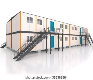 Double story Portable house and office cabins