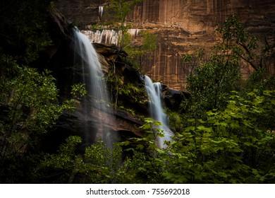 Double Water Falls in Arizona