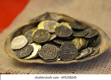 Spanish Doubloon Images, Stock Photos & Vectors | Shutterstock