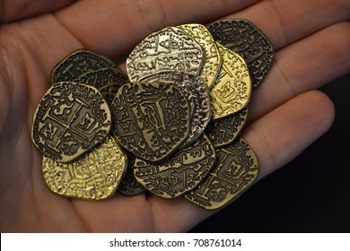 Gold Doubloons Images, Stock Photos & Vectors | Shutterstock