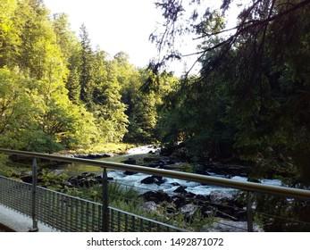Doubs River, Saut du Doubs, Jura, Switzerland