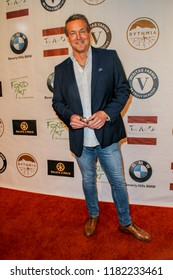 Doug Davidson arrives at the The Art Of Social Media EMMY Gifting Lounge at the Waldorf Astoria Hotel, Beverly Hills, CA on Sept. 15, 2018.