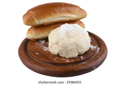 dough and rolls