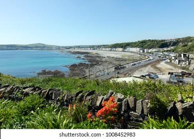 Douglas Bay the Isle of Man British Isles