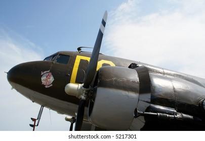 Douglas C-47 Skytrain, in service since 1936