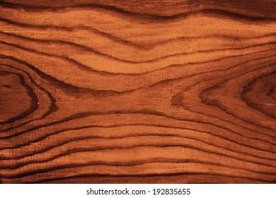 Douglas fir wood with dark brown paint