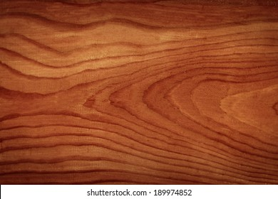 Douglas fir wooden timber with dark brown paint
