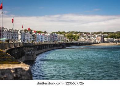 Douglas promenade. Isle of Man