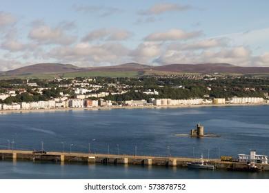 Douglas Town from Douglas Head, Isle of Man