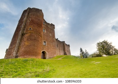 Doune Castle, Scotland. A medieval fortress built by the Duke of Albany, the localtion of the film Monty Python and the Holy Grail.