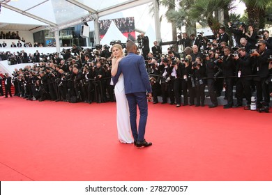 Doutzen Kroes attends the opening ceremony and 'La Tete Haute' premiere during the 68th annual Cannes Film Festival on May 13, 2015 in Cannes, France.
