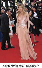 """Doutzen Kroes at the gala premiere of """"The Past"""" (Le Pass) in competition at the 66th Festival de Cannes. May 17, 2013  Cannes, France"""