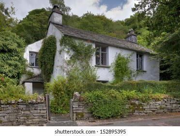 Dove Cottage the home of poet William Wordsworth's, Grasmere, Cumbria, England
