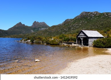 Dove Lake Boatshed at Cradle Mountain