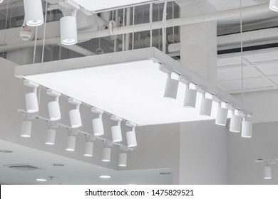 Down lights interior decoration on ceiling