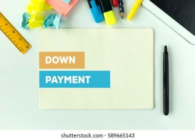DOWN PAYMENT CONCEPT