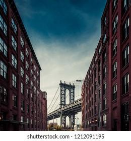 Down Under Manhattan Bridge Overpass