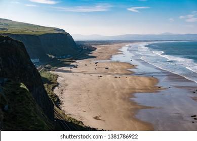 Downhill beach, County Londonderry, Northern Ireland, UK, United Kingdom