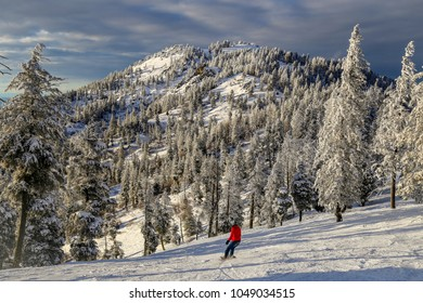 downhill ski resort in Boise, Idaho
