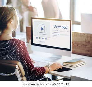 Download is copy data over the internet.