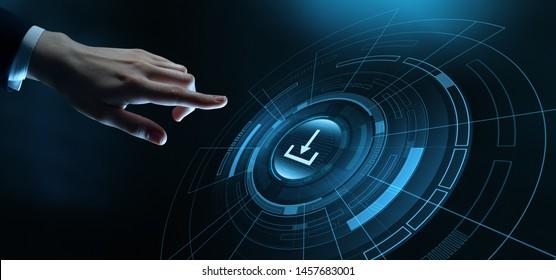 Download Data Storage Business Technology Network Internet Concept