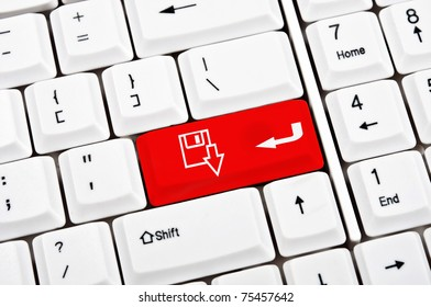 Download sign in place of enter key
