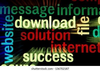 Download solution success
