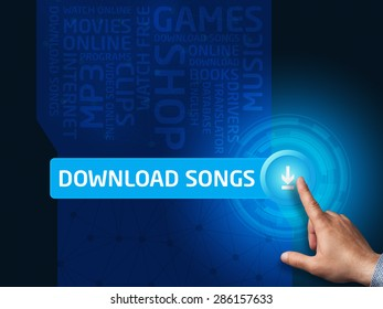 Downloading Song Images, Stock Photos & Vectors | Shutterstock