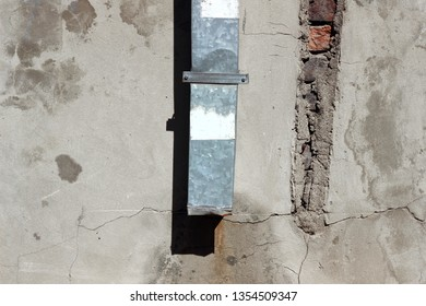 Downspout waterspout rainwater drainage pipe building